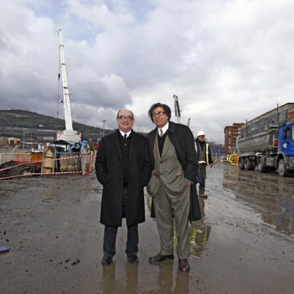 Carlos Ferrater y Alfonso Casares